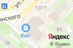 Схема проезда до компании Baby shower в Перми