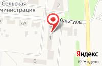 Схема проезда до компании ЗемПроект в Лобаново