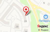 Схема проезда до компании Мир обуви в Лобаново