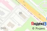 Схема проезда до компании Формула 1 в Перми