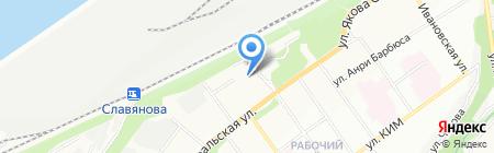 Промед на карте Перми