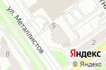Схема проезда до компании Мировой крепеж в Перми