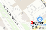 Схема проезда до компании МЕТАЛЛИСТОВ в Перми