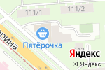 Схема проезда до компании Бульвар Гагарина в Перми