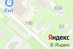 Схема проезда до компании Детская библиотека №13 в Перми