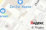 Схема проезда до компании Слалолуйка в Перми