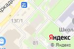 Схема проезда до компании Ольга в Перми