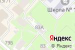 Схема проезда до компании АвтоСевен в Перми