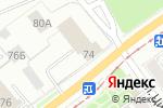 Схема проезда до компании Управление надзорной деятельности в Перми