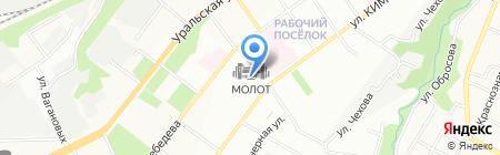 ДЭСОН ЭНЕРГИЯ на карте Перми