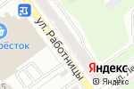 Схема проезда до компании Горница в Перми