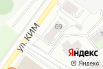 Схема проезда до компании Уралалмаззолото-Безопасность в Перми