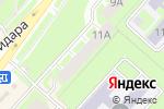 Схема проезда до компании Классика в Перми