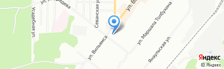 Mila на карте Перми