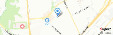 Детская школа искусств Мотовилихинского района на карте Перми
