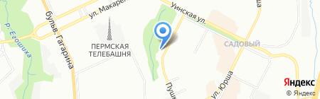 ГЕРА-С на карте Перми