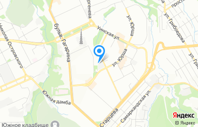 Местоположение на карте пункта техосмотра по адресу г Пермь, ул Аркадия Гайдара, д 10/1