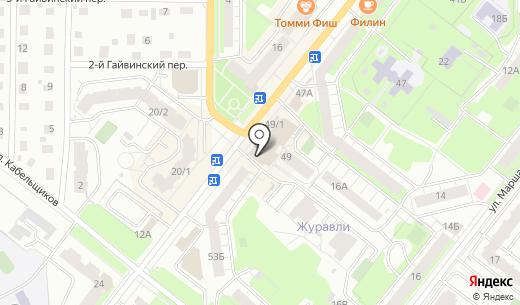 Миндаль. Схема проезда в Перми