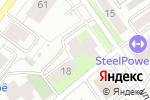 Схема проезда до компании Молот в Перми