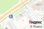 Схема проезда до компании Второе дыхание в Перми