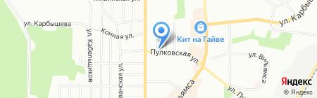 Радиан на карте Перми