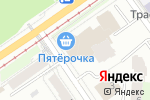 Схема проезда до компании Reni-Line в Перми