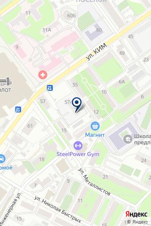 ТОРГОВАЯ КОМПАНИЯ ПЕРМТОРГМОНТАЖ на карте Перми