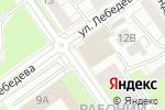 Схема проезда до компании СтройКонтур в Перми