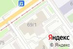 Схема проезда до компании ЮРВЕСТ в Перми