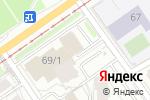 Схема проезда до компании Агентство-2010 в Перми