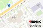 Схема проезда до компании Цветочный бутик в Перми