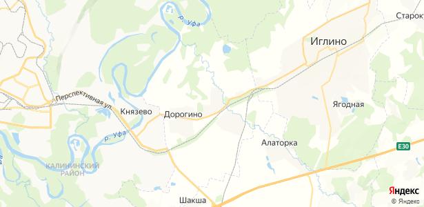 Кириллово на карте