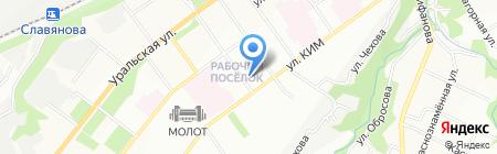 ГлавПереезд.РФ на карте Перми