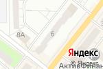 Схема проезда до компании Арт Класси в Перми