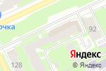Схема проезда до компании Britannia ARTmania в Перми