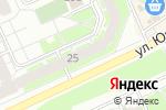 Схема проезда до компании Хмельной рядъ в Перми