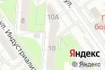 Схема проезда до компании Thor fitness в Перми