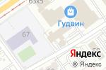 Схема проезда до компании ВЕРТИКАЛЬ-Профи в Перми