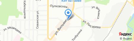 Обувь+ на карте Перми