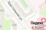 Схема проезда до компании Сваха 21 века в Перми