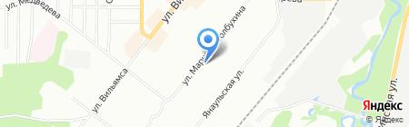 Красное & Белое на карте Перми