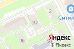 Схема проезда до компании Календарь в Перми