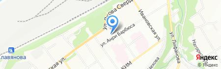 Аскона на карте Перми