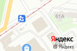 Схема проезда до компании Сантехкомплект в Перми
