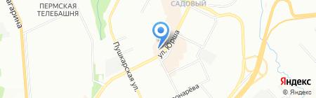 Город мастеров на карте Перми