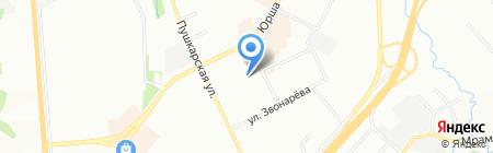 Детский сад №319 на карте Перми