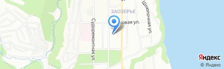Детский сад №394 на карте Перми
