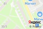 Схема проезда до компании Вина Кубани в Перми