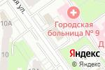 Схема проезда до компании Межрегиональное Инженерное Товарищество Элитного Строительства в Перми
