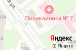 Схема проезда до компании Хрустальная, 7 в Перми
